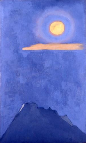田村一男 《陽月》1971年
