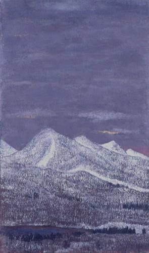 田村一男《蔵王》1984年
