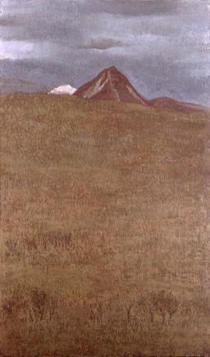 田村一男≪冬の丘≫1988年