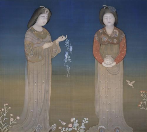 菊池契月《立女》長野県信濃美術館蔵 ※前期のみ展示