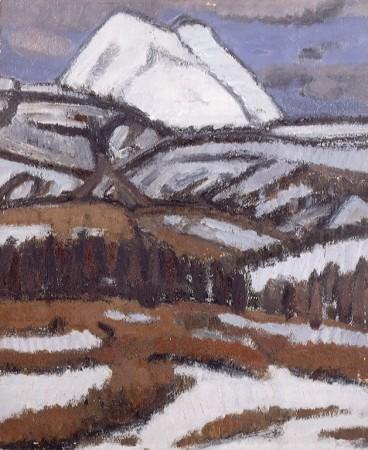 《蓼科山》1952年