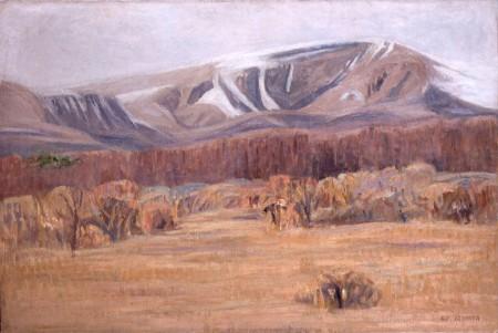 《霧ヶ峰》1941年